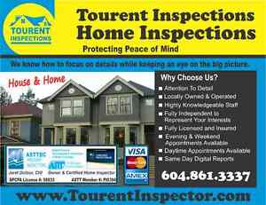 Tourent Inspections - Home Inspector (Metro Vancouver)
