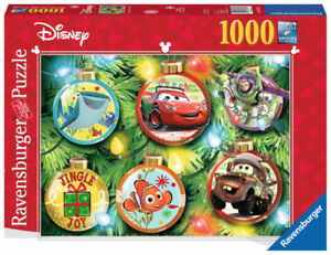 RAVENSBURGER PUZZLE 1000 DISNEY CHRISTMAS COMME NEUF TAXES INCLU