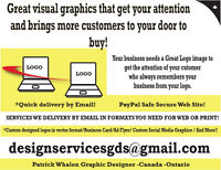 Fast Designing Services by Email!