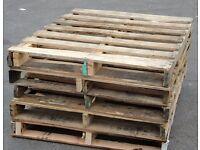 25 wooden pallets