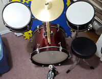 drum set great condition, used just a few times
