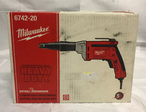 Milwaukee Tool Drywall Screwdriver # 6742-20