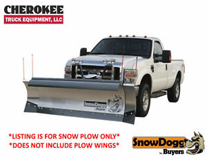 snow Dogg Plow Hd with wing kit