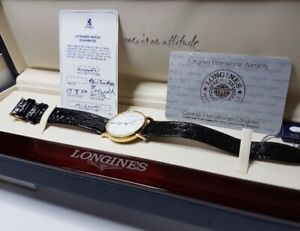 Longines Rare 18Kt Gold Mens Luxury Watch Automatic
