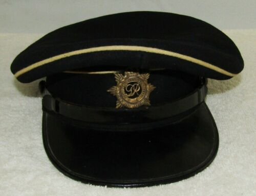 WW2 British Royal Service Corps Dress Visor Hat For Enlisted