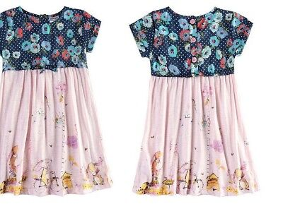 Mädchen Kleid Hase Kaninchen Rabbit 92 98 104 110 116 england mode tunika