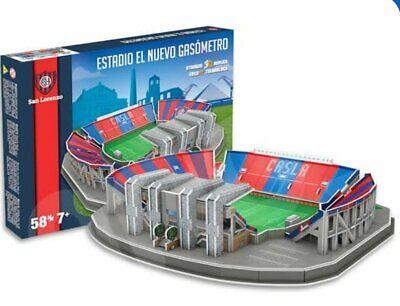 ORIGINAL NANOSTAD 3D PUZZLE MODEL SAN LORENZO STADIUM - NUEVO GASOMETRO comprar usado  Enviando para Brazil
