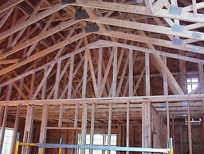 Precut 2x6 Wall Panels Floor Trusses Rafters for Garage Apartment Package Home
