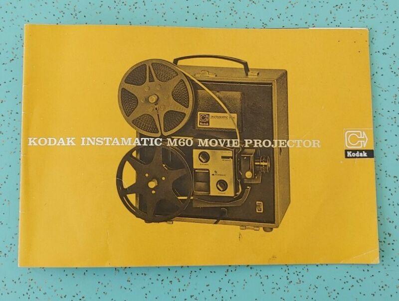 Kodak Instamatic M60 Projector Instruction Manual