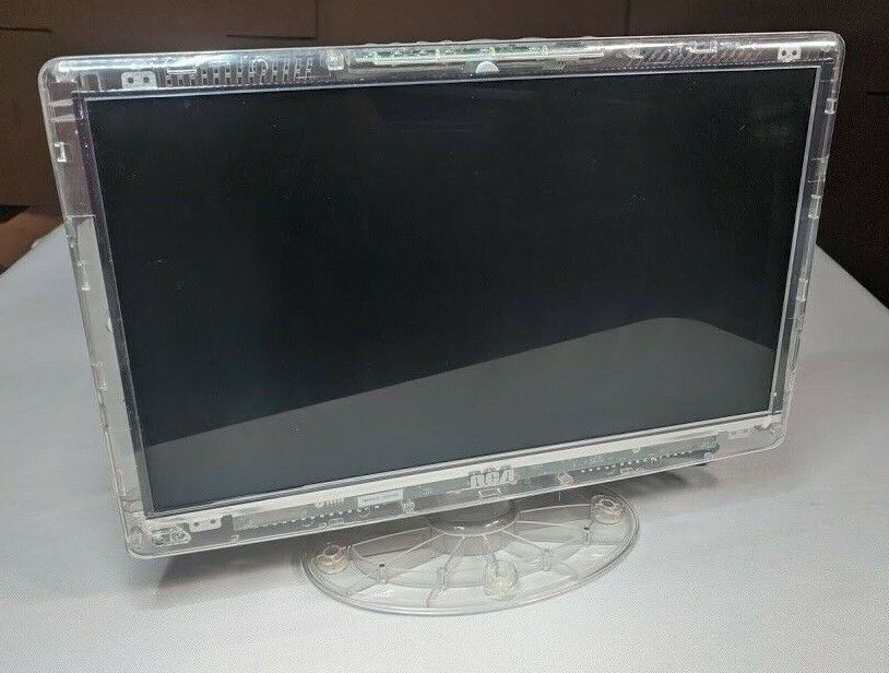"""RCA DLTK156R 15.6"""" Prison Clear LCD HD TV For Parts / Repair - Damaged LCD (002)"""