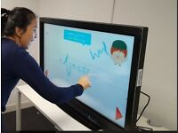 "42"" Clevertouch Plus Touchscreen with case"