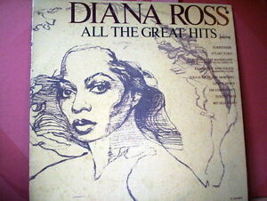 ROSS-DIANA-LP-all-the-great-hits-fored-cover-ITALY-M-EX-VINYL
