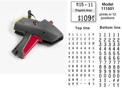 Genuine New Monarch 1115-01 Price Gun Label Gun - Authorized Dealer