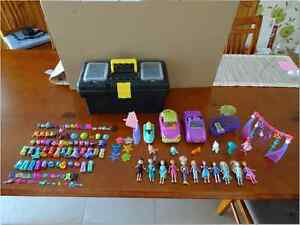 Polly Pocket dolls and accessories Secret Harbour Rockingham Area Preview