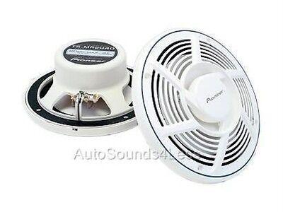 """Pioneer TS-MR2040 200 Watt 8"""" Marine 2-Way Boat Speakers Water Resistant"""