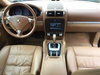 LHD LEFT HAND DRIVE PORSCHE CAYENNE 3.2 PETROL 2004 BEIGE SAT NAV XENON LOW MILEAGE IMMACULATE