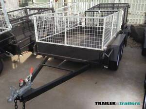 8x5 Tandem Cage Trailer with 2ft Galvanised Cage Thomastown Whittlesea Area Preview