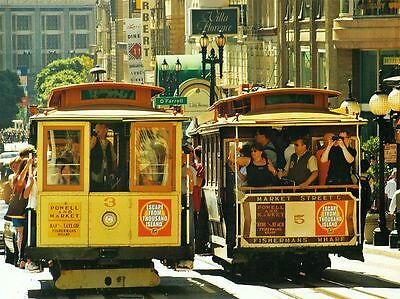 Cable Cars San Francisco 500 Pc Trolley Ride Downtown Boxless Jigsaw Puzzle New