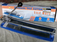 Manual Precision up to 40cm 10mm thick Tile Cutter