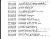 Joblot cds /dvds/ps3 games