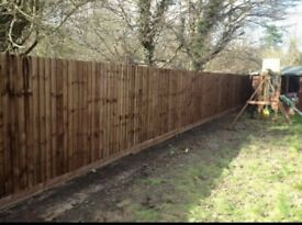 Fencing / Broken fence repairs / new fences / featheredge fencing / palisade fencing