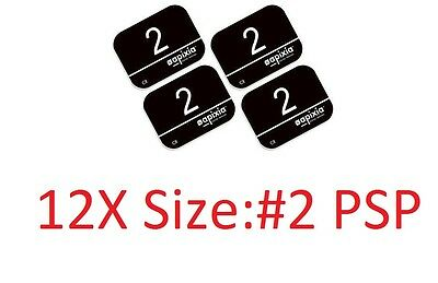 12 Pack Size 2 Scanner Apixia Type X-ray Phosphor Plates Psp Fda Approved