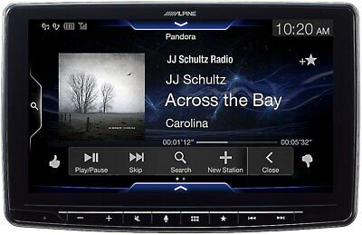 "Alpine iLX-F309 HALO9 9"" AM/FM/audio/video Receiver w/ 9-inc"