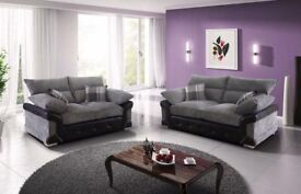 Brand New Fabric Carlton 3+2 Sofa Set