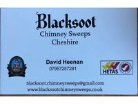 Blacksoot Chimney Sweeps Cheshire. NACS registered. Sweeps from £49