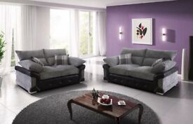 Massive Sale Now On Brand New ABBY 3+2 Fabric Sofa Set