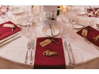 87 burgundy red napkins wedding