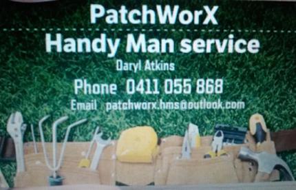 PatchWorX  Handy Man Service