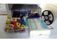 Hamster Cage plus accessories