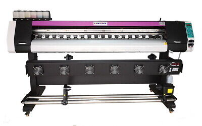 1830mm 72 Large Format Printer Eco Solvent Ripwide Banners Vinyls Dual Heads