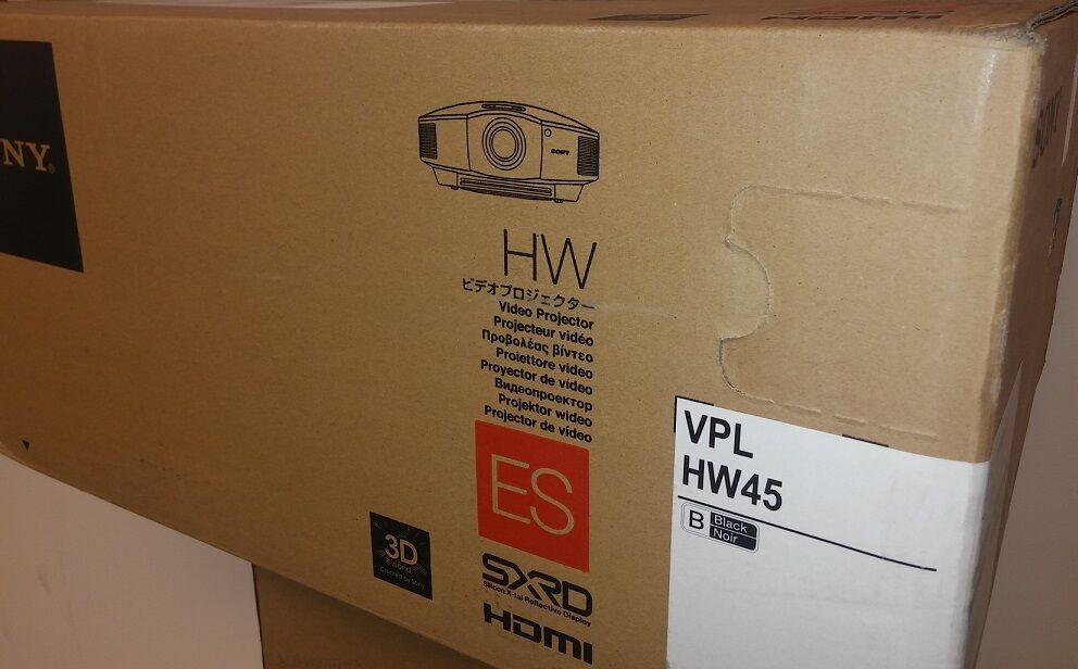Sony VPL-HW45ES Full HD SXRD Home Cinema Projector