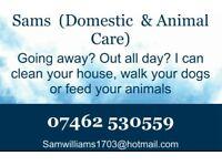 Pet & house services