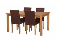 Ashdon Dining Table & Chairs