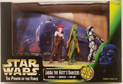 Star Wars Jabba The Hutt's Dancers Rystall Greeata Lyn Me POTF2 Cinema Scenes