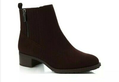 R/100*Good for the Sole-Brown 'Grape' Block heel Ankle Boots Women's Size UK 4 for sale  Shipping to Ireland