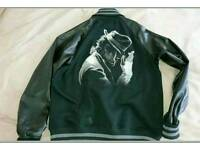 Michael Jackson leather jacket size XXL with built in headphones