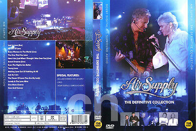 Air Supply(The Definitive) / DVD NEW