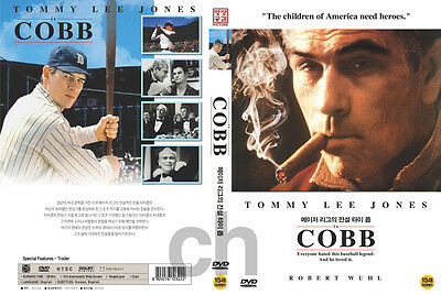 Cobb (1994) - Ron Shelton, Tommy Lee Jones, Robert Wuhl  DVD NEW