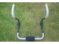 Exercise roll bar tummy flattener for men and women