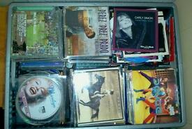 Hundreds of original music cds, albums and singles