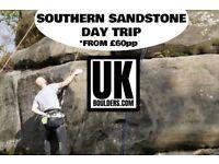 Climbing Experience in Kent (Harrison's Rocks) £60pp