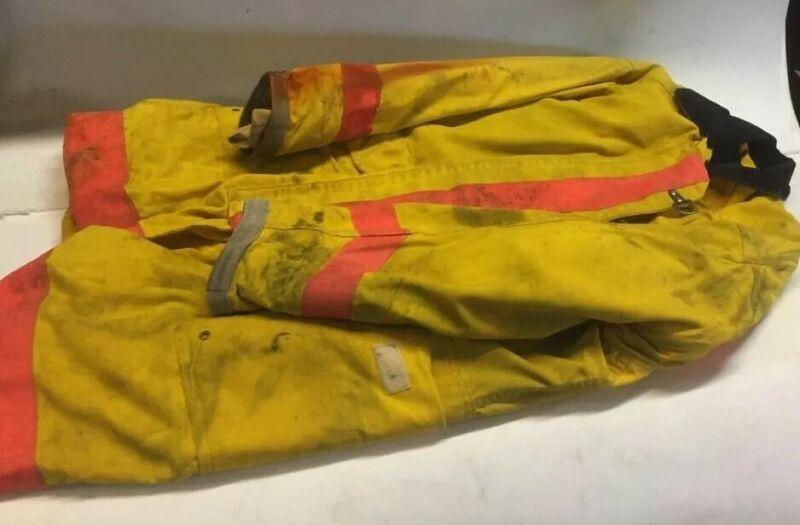 FY Repel Turnout Coat Fire Coat size 46Fire/Rescue NFPA Fire Resistant Jacket