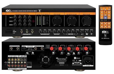 New DX388 D ( G4 ) Better Music Builder 900W KARAOKE Mixer Mixing Amplifier (Best Karaoke Amplifier Mixer)