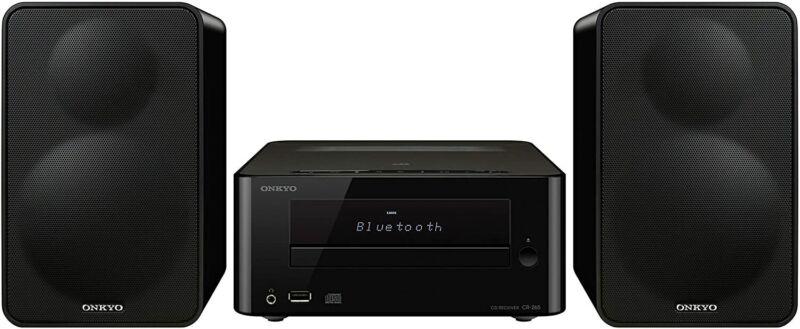 Onkyo OCS265B CD Hi-Fi Mini Bluetooth Home Audio System, Black