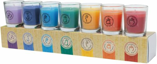Chakra 7 Scented Premium Votive Candles