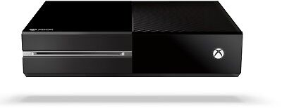 Genuine Microsoft Xbox One 1TB Black Matte Console Only Model 1540